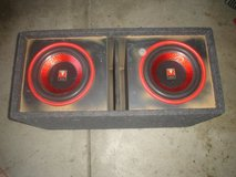 "Speaker Box With 2 12 "" sub woofer in Lake Elsinore, California"