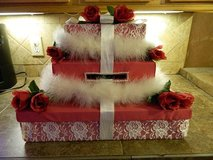 Wedding gift card box in Kingwood, Texas
