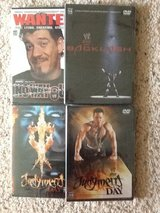 WWE PPV DVD's in Camp Lejeune, North Carolina